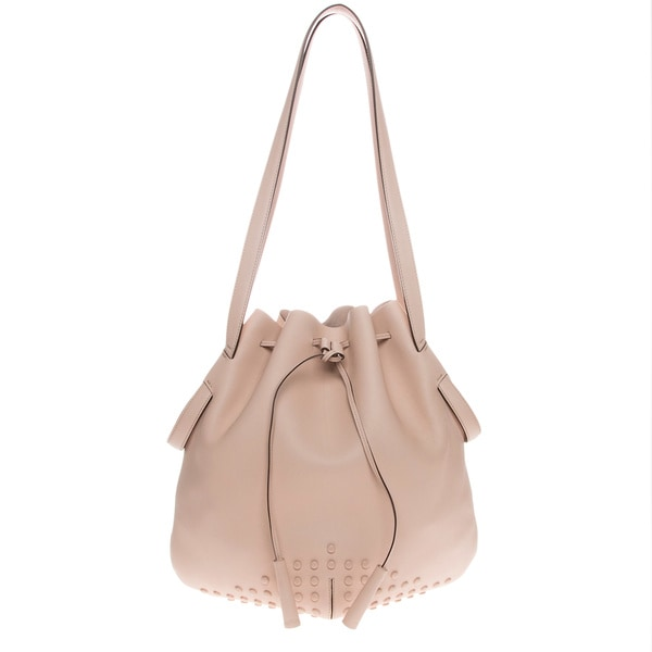 Tod's Nude Medium Secchiello Bucket Bag