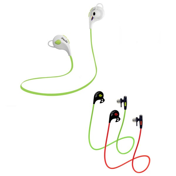 iPanda Budz Wireless Sweatproof Headset with Ear Support