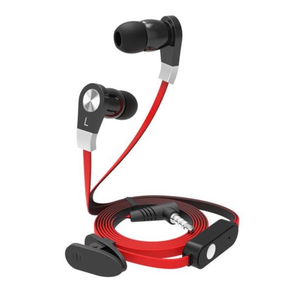iPanda Gravity2 Flat-wire HD Headphones with Inline Mic