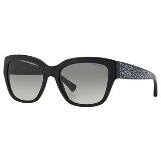 Coach Women's HC8139 L110 500211 Plastic Butterfly Sunglasses