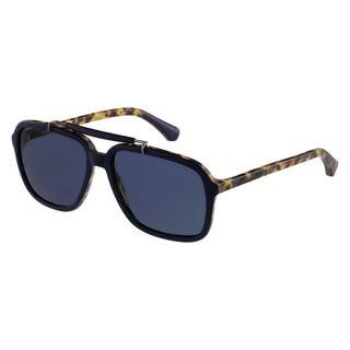Emporio Armani Men's EA4036 Plastic Square Sunglasses