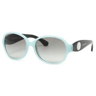 Emporio Armani Women's EA4040 Plastic Oval Sunglasses