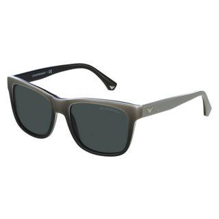 Emporio Armani Men's EA4041 Plastic Square Sunglasses