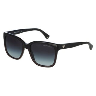 Emporio Armani Women's EA4042 Plastic Square Sunglasses