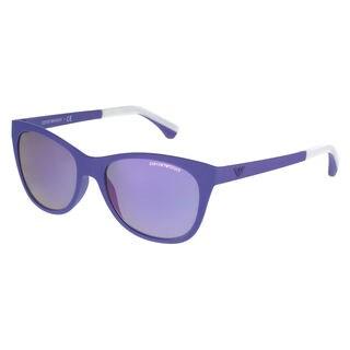 Emporio Armani Women's EA4046 Oval Sunglasses