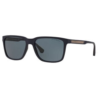 Emporio Armani Men's EA4047 Square Sunglasses