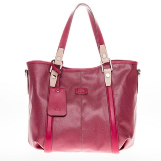 Tod's Medium G-Line Coated Canvas Shopper