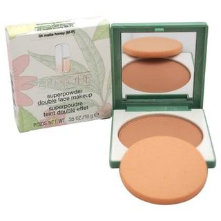 Clinque Superpowder Double Face 04 Matte Honey Makeup