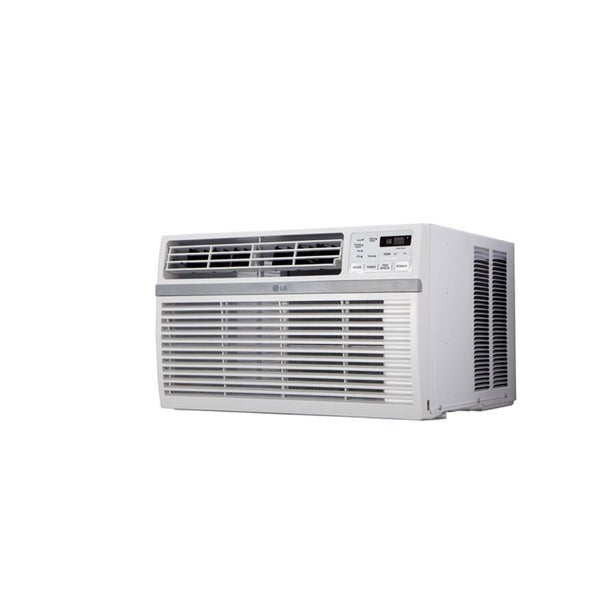 LG 8-000 Btu Window Air Conditioner with Remote Control - White - LW8015ER