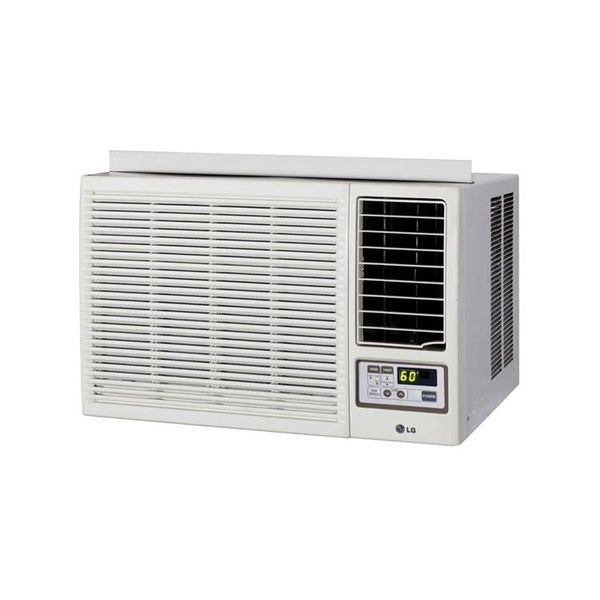 Lg lw1213hr 12 000 btu heat cool 220v window air for 18000 btu ac heater window unit