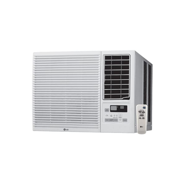 LG LW1215HR 12,000 BTU Cooling and 11,200 BTU Heating (220V) Air Conditioner with Remote (Refurbished) 15708373