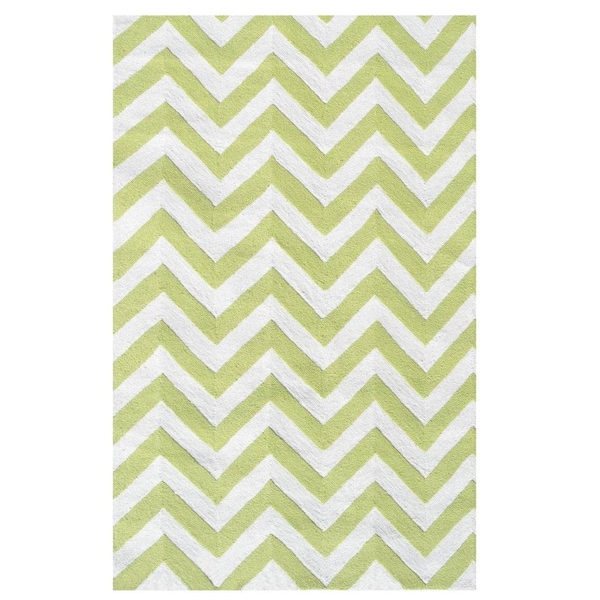 Chevron Lime Rug