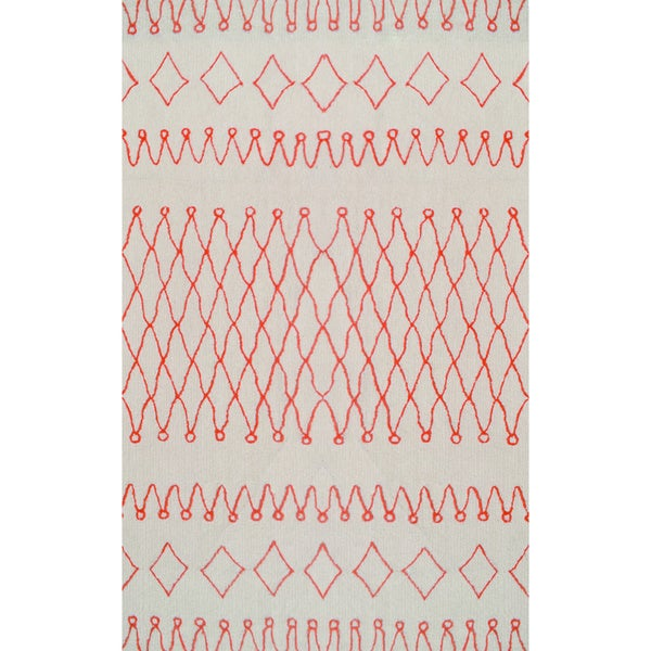Tribal Orange Rug