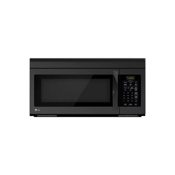 LG LMV1683SB (Refurbished) 1.6-cubic Foot Non-sensor Over-the-Range Smooth Black Microwave Oven