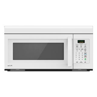LG LMV1683SW (Refurbished) 1.6-cubic Foot Non-sensor Over-the-Range Smooth White Microwave Oven