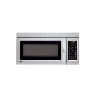 LG LMV1831ST (Refurbished) 1.8-cubic Foot Over-the-Range Stainless Steel Microwave Oven