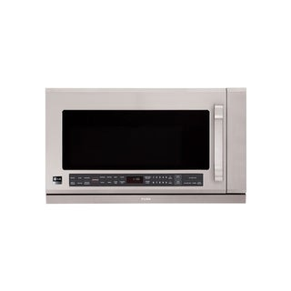 LG LSMH207ST (Refurbished) 2-cubic Foot LG Studio Series Over-the-Range Stainless Steel Microwave Oven