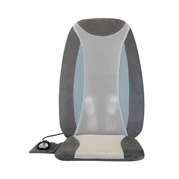 Comfort Products Full Back Shiatsu Heat Massage Cushion