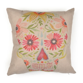 Journee Home 'Sugar Skull' 17 inch Accent Pillow