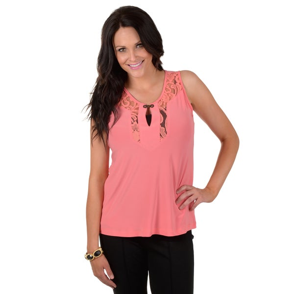 Timeless Comfort by Journee Sleeveless Lace Top