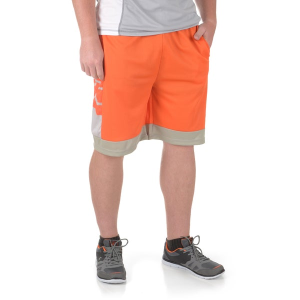 Vance Co. Men's Printed Mesh Basketball Shorts