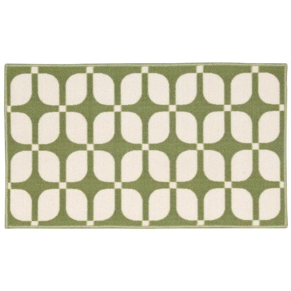 Waverly by Nourison Fancy Free Celery Accent Rug (1'8 x 2'10)