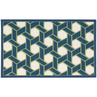 Waverly by Nourison Fancy Free Ocean Accent Rug (1'8 x 2'10)