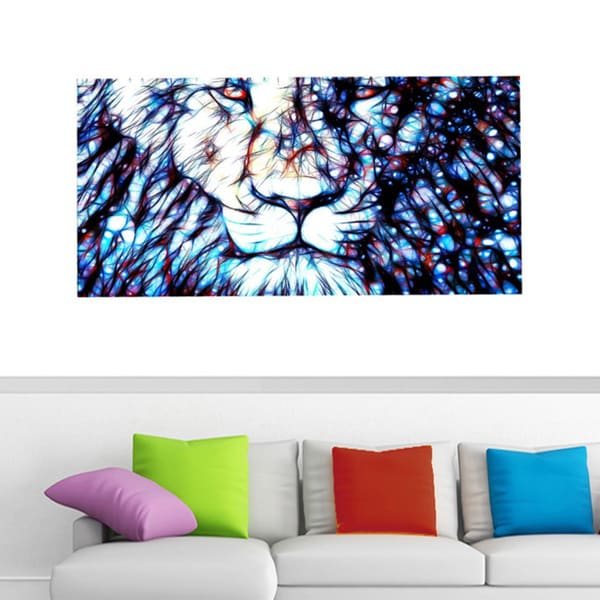 Design Art 'Leader of the Pack' 40 x 20 Canvas Art Print