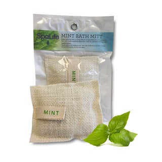 Mint Bath Mitts (Pack of 2)