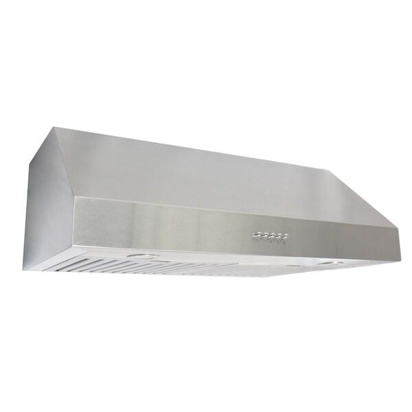 cosmo 30 inch stainless steel under cabinet range hood uc30 17418648. Black Bedroom Furniture Sets. Home Design Ideas