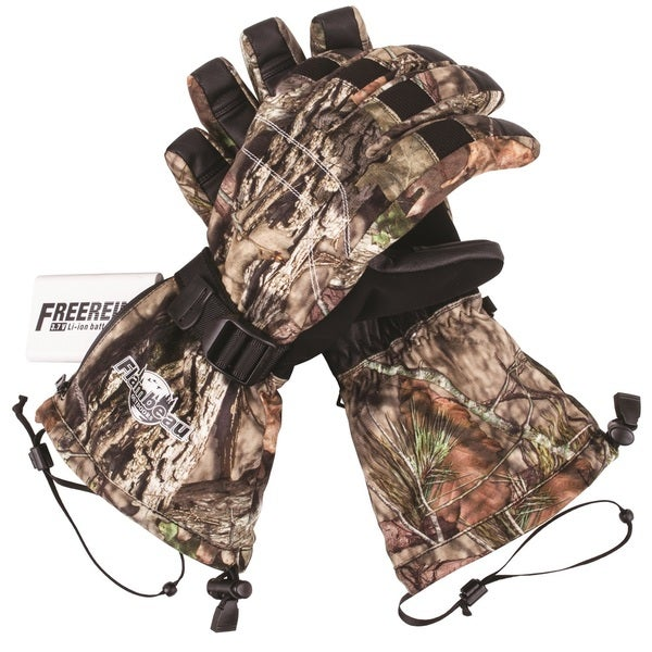 Flambeau Heated Synthetic Palm Gloves Camo