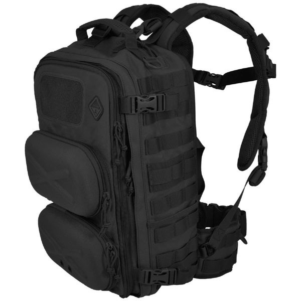 Hazard 4 Clerk Black Front/ Back Pod Organizer Pack