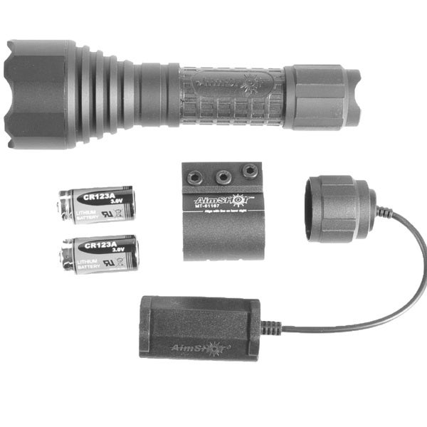 Aimshot Tx870g 250 Lumen Green LED Flashlight Kit with Mount