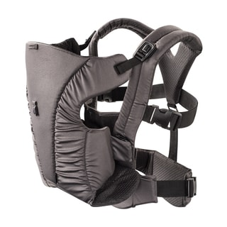 Evenflo Platinum Series 2-in-1 Soft Carrier in Charcoal Grey