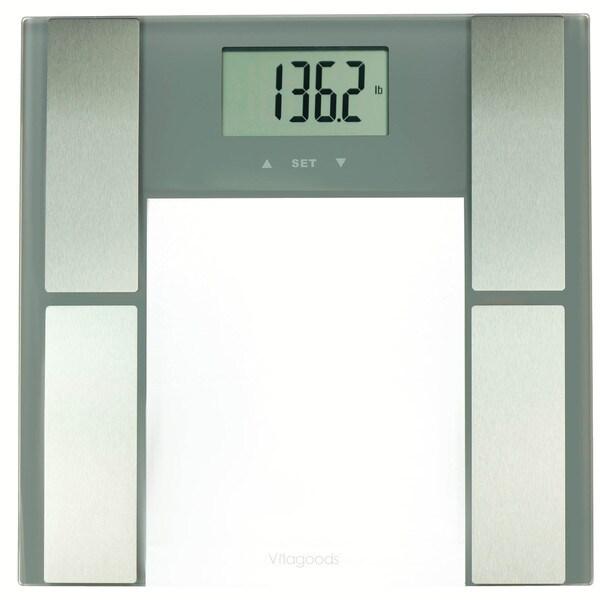 Vitagoods Grey Digital Body Analyzer Scale