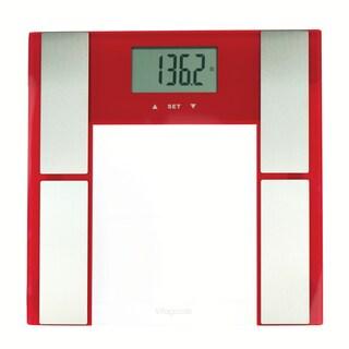 Vitagoods Red Digital Body Analyzer Scale