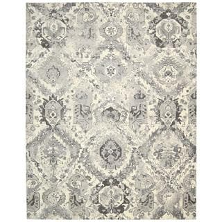 Nourison Twilight Ivory/Grey Rug (8'6 x 11'6)