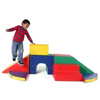 Foamnasium Adventure Multi-colored Foam Climbing Set