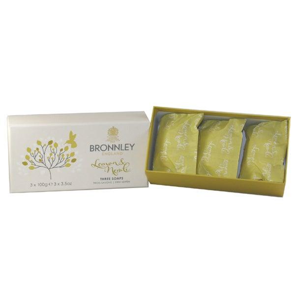 Lemon & Neroli By Bronnley England Soaps (Pack of 3)