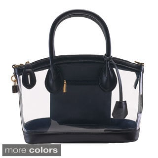 D by Dominie Faux Leather Handbag
