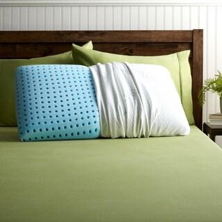 Blu Sleep Ice Gel Memory Foam Pillow with Cover