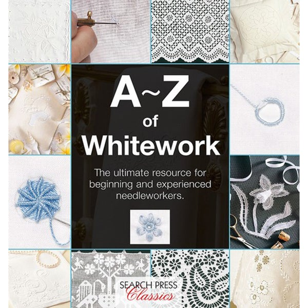 Search Press Books A Z Of Whitework