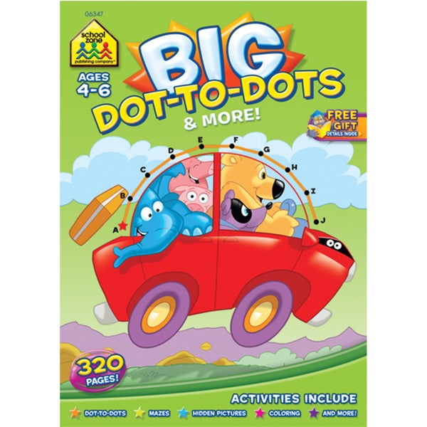 Big Workbook Dot To Dots & More