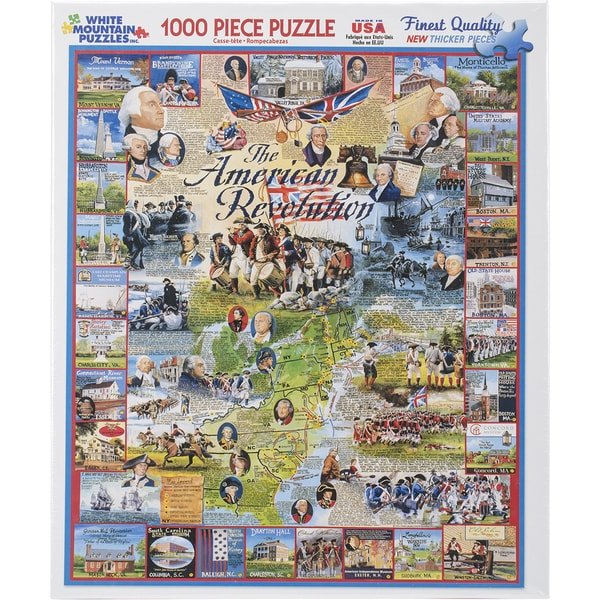 Jigsaw Puzzle 1000 Pieces 24inX30in The American Revolution