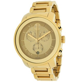 Movado Women's 3600209 Bold Round Gold Ion-Plated Bracelet Watch