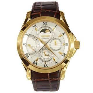 Seiko Men's SRX004P1 Premier White Watch