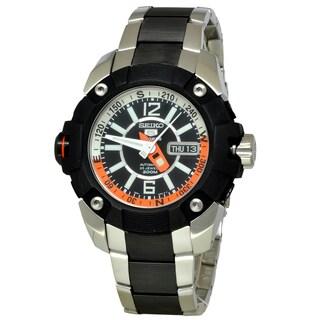 Seiko Men's SKZ265K1 5 Sports Black Watch