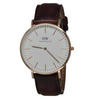 Daniel Wellington Men's 0106DW Classic St Mawes White Watch
