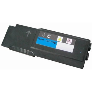 593BBBT Cyan Toner Cartridge for Dell Color Laser C2660dn C2665dnf Series Printers (Pack of 1)