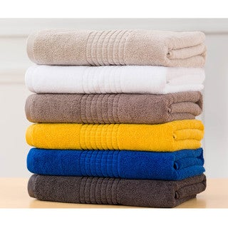 Mosaic 100-percent Cotton 6-piece Towel Set